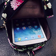 Женский городской рюкзак синий, фото 4