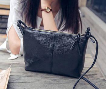 Женская сумочка через плечо черного цвета, Жіноча сумочка, Клатч
