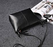 Женская сумочка через плечо черного цвета, Жіноча сумочка, Клатч, фото 4