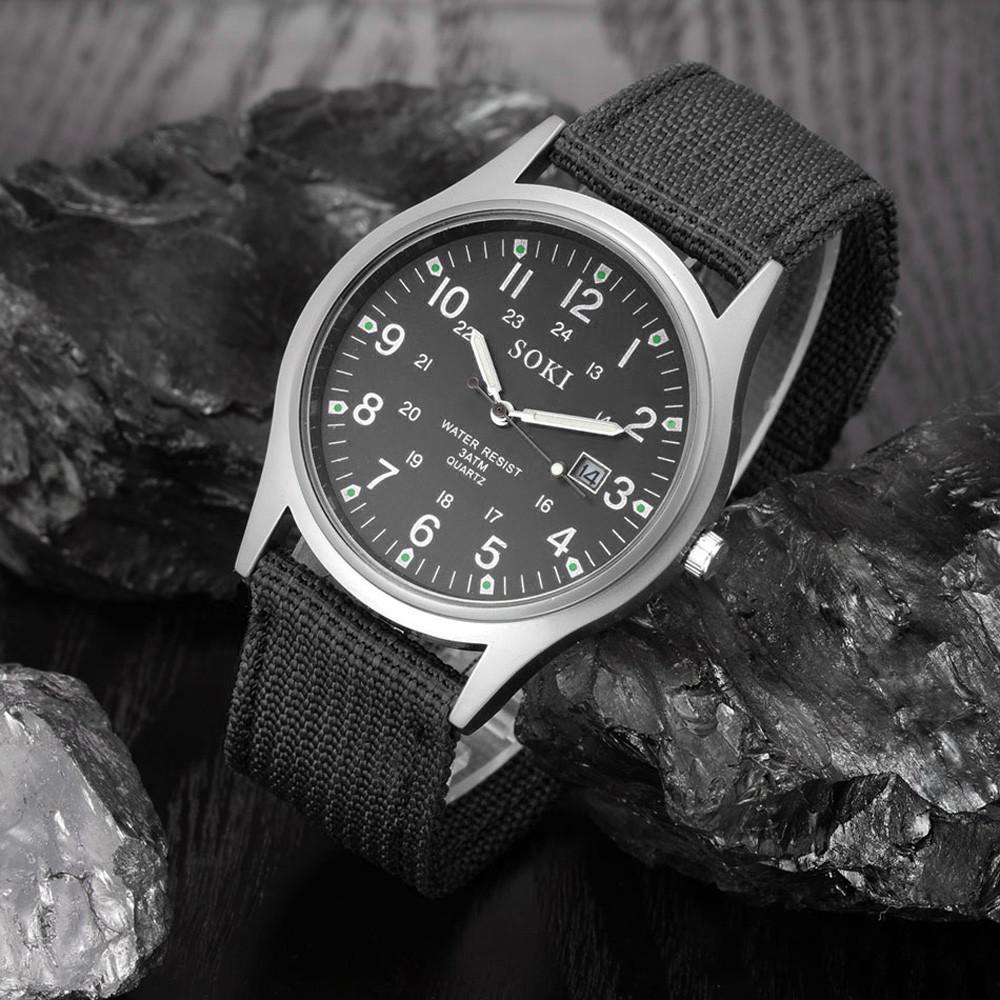 Мужские армейские часы черные