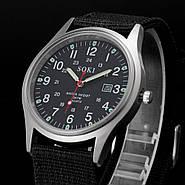 Мужские армейские часы черные, фото 3