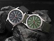 Мужские армейские часы черные, фото 4