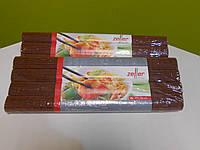 Набор ковриков бамбуковых (4 шт.), коричневые, фото 1