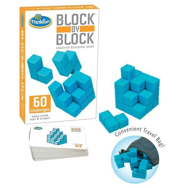 Игра-головоломка Блок за блоком   ThinkFun Block By Block