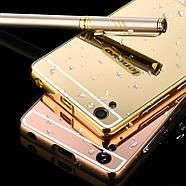 Чехол для Lenovo A6000 / A6010 / K3 зеркальный розовый, фото 2