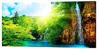 Картина на холсте Декор Карпаты Природа 50х100 см (p815)