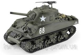 Танк р/у HENG LONG M4A3 Sherman   3898-1, 1:16