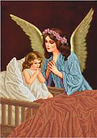 Схема для вышивки бисером Молитва к Ангелу-хранителю КМР 3215