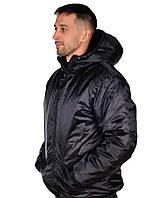 Куртка рабочая на зиму USES Оксфорд плащевка размер 56-58, рост 170-176 черный