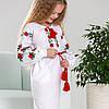 Платье в украинском стиле - Трояндочка от 6 до 13 лет, фото 3