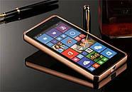 Чехол для Microsoft Lumia 535 (Nokia) Зеркальный розовый, фото 2
