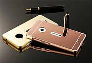 Чехол для Microsoft Lumia 535 (Nokia) Зеркальный розовый, фото 3