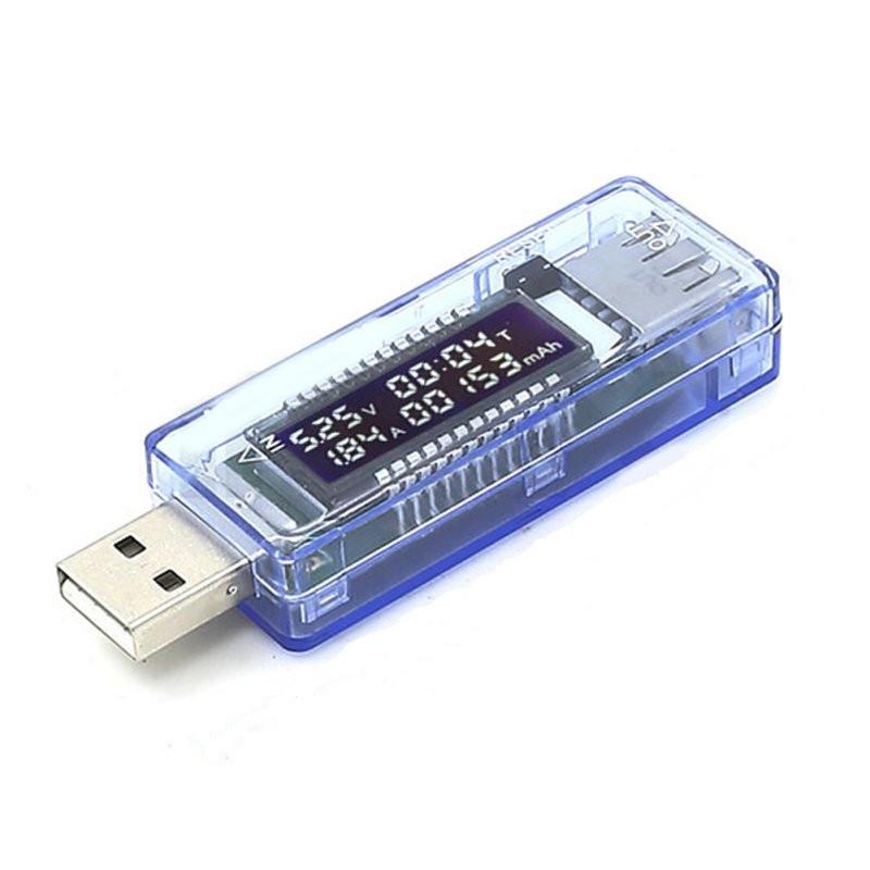USB тестер Keweisi KWS-V20 амперметр вольтметр измеритель емкости