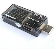 USB тестер Keweisi KWS-10VA амперметр вольтметр, фото 2