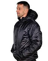 Куртка рабочая на зиму USES Оксфорд плащевка ВО размер 64-66, рост 170-176 черный