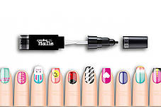 Детский лак-карандаш для ногтей Malinos Creative Nails на водной основе (2 цвета малиновый + синий), фото 2