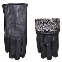"""Перчатки  кожаные Richoice на плюшевой подкладке/кролик(9.5-11.5)""""Hends""""купить недорого от прямого поставщика"""