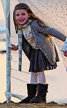 Детский кардиган для девочки BRUMS Италия 143BGHC005 серый 116