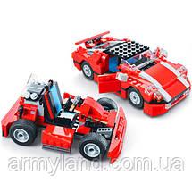 Красная Гоночная Машина Architect (23в1) конструктор Аналог Лего, фото 2