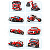 Красная Гоночная Машина Architect (23в1) конструктор Аналог Лего, фото 3