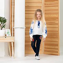 "Блуза вышивка детская  ""Жар птица"" от 6 до 13 лет, фото 2"