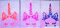 """Блокнот А5 250-1 """"Пайетки двусторонние голографические -Единорог"""", 80листов клетка"""