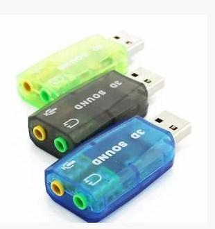 USB звукова карта 3D Sound 5.1 - зовнішня для ПК