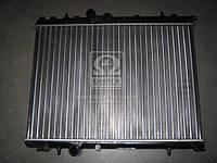 Радиатор охлаждения P206 11/14/16 MT/AT -AC(пр-во Van Wezel). 40002189