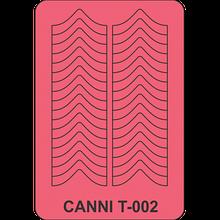 Трафарет для маникюра Т-002