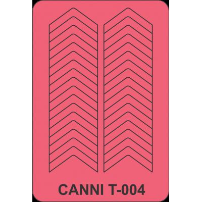 Трафарет для маникюра Т-004