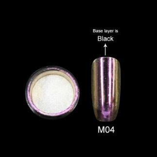 Зеркальная пудра Canni (северное сияние) М04