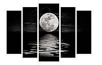 Модульная картина Декор Карпаты 120х80 см Луна (M5-456)