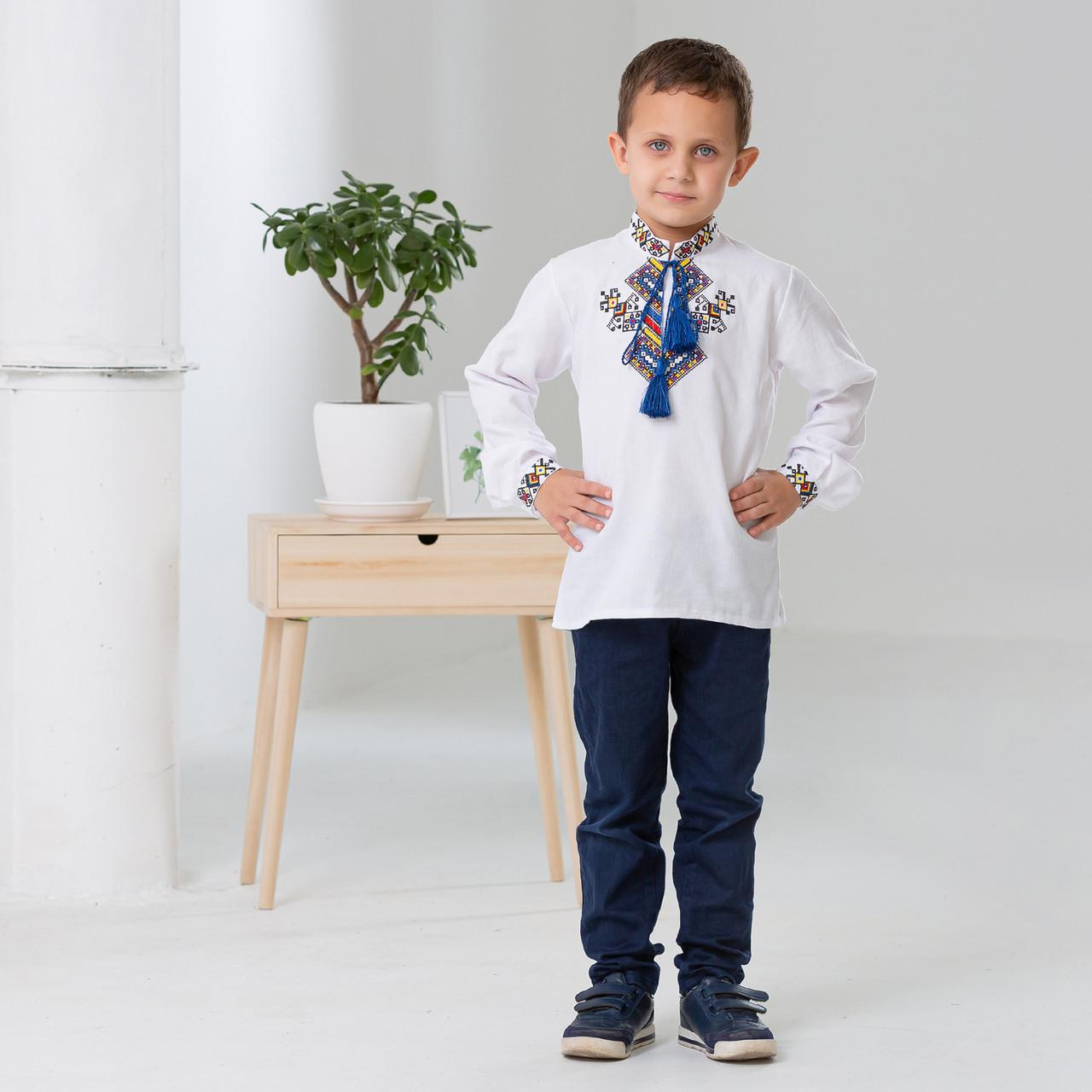 Рубашка с вышивкой для мальчика Судьба
