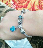 Женский браслет Pandora шарм пандора, фото 2
