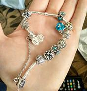 Женский браслет Pandora шарм пандора, фото 3