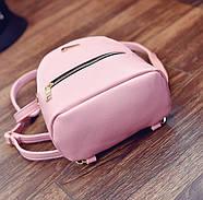Женский городской рюкзак розового цвета, фото 3