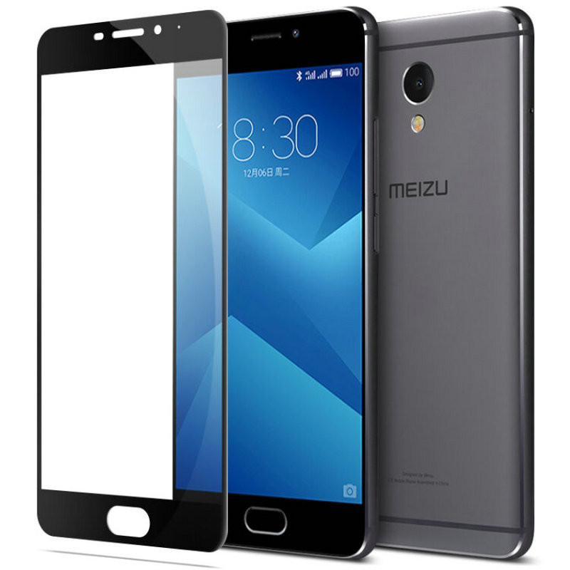 Защитное стекло Meizu M5 Note full cover black