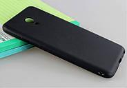 Чехол для Meizu M5 черный, бампер, накладка, чохол, силиконовый, силіконовий, фото 4