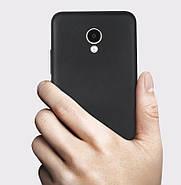 Чехол для Meizu M5 черный, бампер, накладка, чохол, силиконовый, силіконовий, фото 5