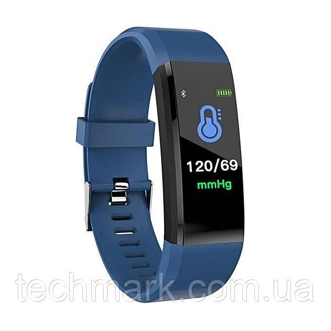 Фитнес-браслет с измерением пульса и давления UTM Smart Band B05 Синий