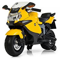 Детский мотоцикл на аккумуляторе 3636EL-6,мягкое сиденье