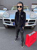 ⭐ Детский велюровый спортивный костюм Philipp Plein (реплика)