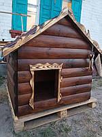 Собачья будка утеплённая