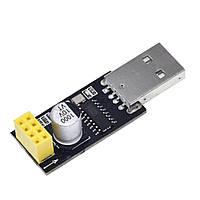 USB - TTL конвертер CH340G для підключення ESP8266 ESP-01 (UART RS232 TTL)