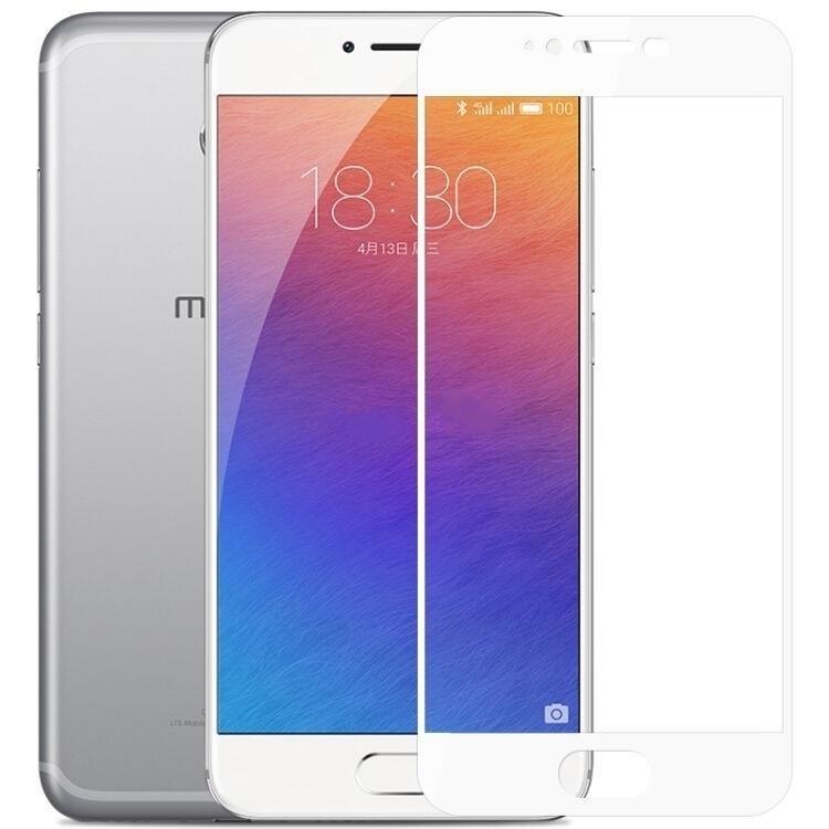 Защитное стекло Meizu Pro 6 full cover white