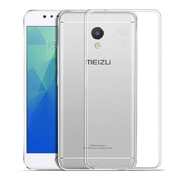 Чехол для Meizu M5s прозрачный, бампер, накладка, чохол, силиконовый, силіконовий
