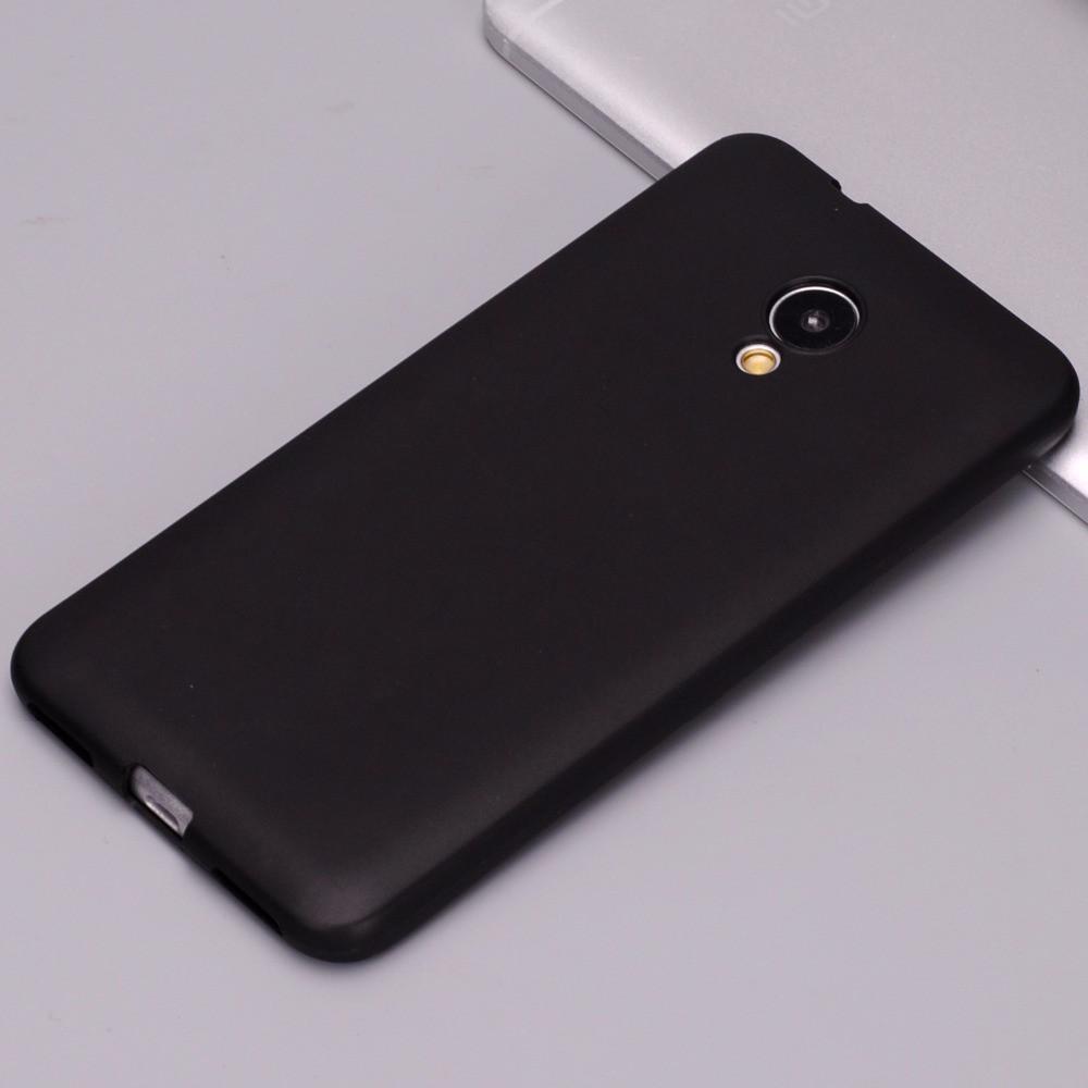 Чехол для Meizu M5s черный, бампер, накладка, чохол, силиконовый, силіконовий