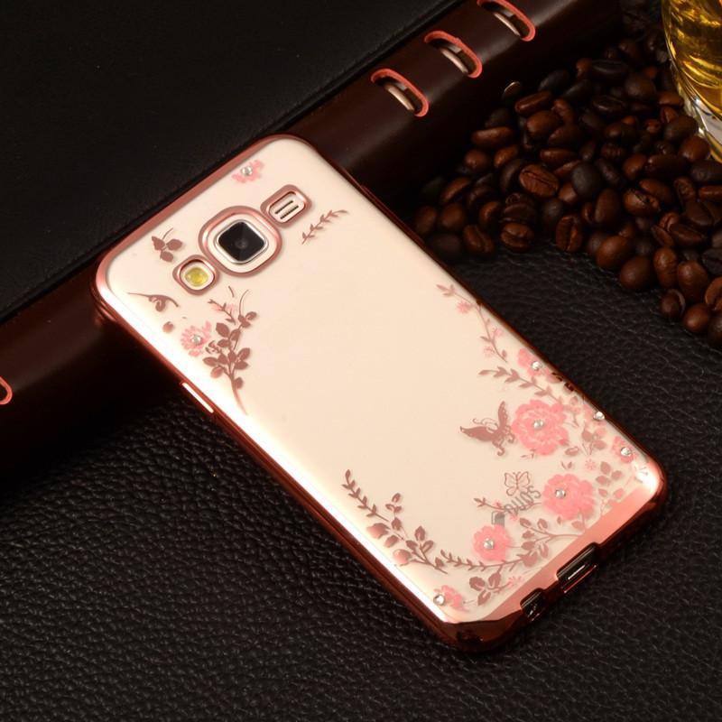 Чехол для Galaxy J5 2015 / Samsung J500 Flowers