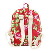 Женский городской рюкзак красный, фото 3