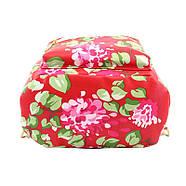 Женский городской рюкзак красный, фото 4